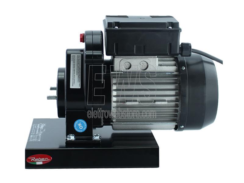 REBER motoriduttore motore elettrico n.3 HP 0,30 450 Watt 9600N